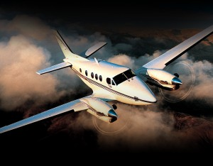 Beechcraft King Air C90GTx.