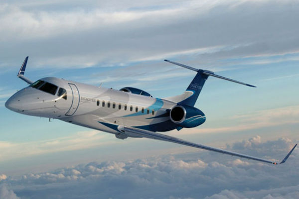 FlightSafety International's new Embraer Legacy 500 full flight
