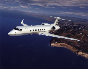 Gulfstream G550. Photo: Gulfstream Aerospace.