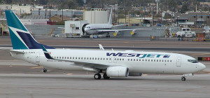WestJet Boeing 737-800. Photo: WestJet.
