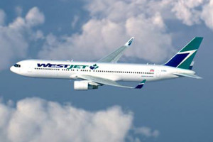 WestJet Boeing 767-300ER. Photo: WestJet.