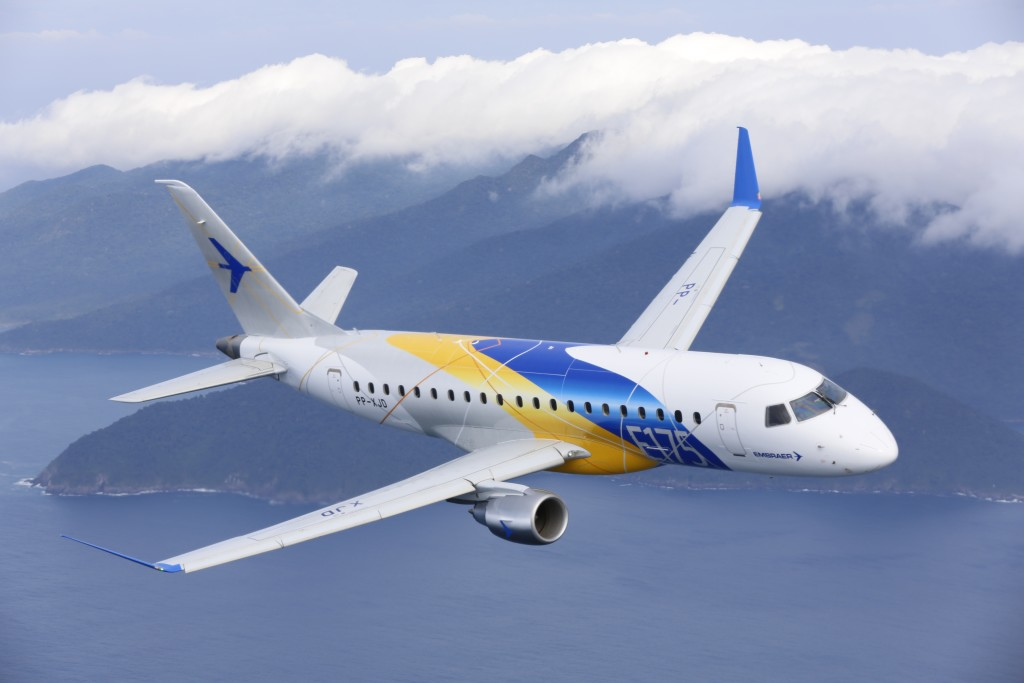 Embraerand Horizon Air Sign A Contract For 30 E175 Jets