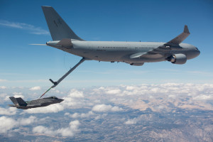 A330 MRTT and F-35. Photo: Airbus Industrie.