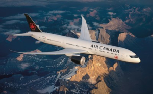 Boeing 787 Air Canada New Livery. Photo: Air Canada.