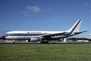 Airbus A300B4 d'eastern Airlines. Photo: Eastern Airlines.