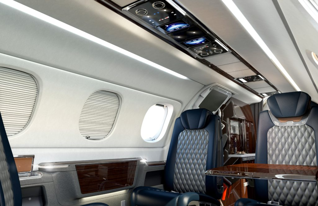 Nbaa 2017 Embraer S Phenom 300e Features Redesigned